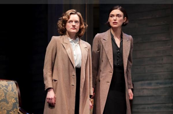 Elizabeth Moss and Keira Knightley