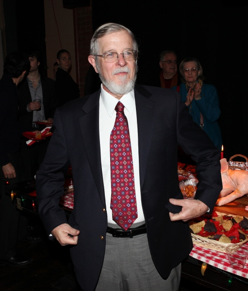 Howard Owens, President of the Red Bull Theater Board of Directors attending the After Party for the Red Bull Theatre Revival of 'The Witch Of Edmonton' at Theatre at St. Clement's in New York City.