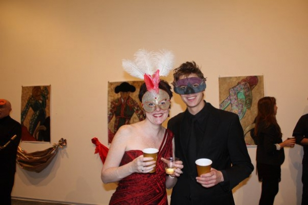 Photo Flash: Nylon Fusion Collective Hosts Masquerade Party