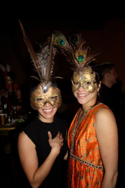 Co-founder Ivette Dumeng and Karla Almendarez