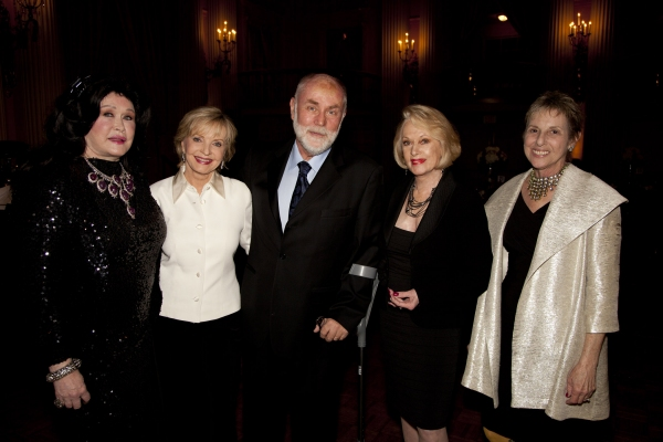 Barbara Van Orden, Florence Henderson, Robert David Hall, Tippi Hedren and Judy Hall