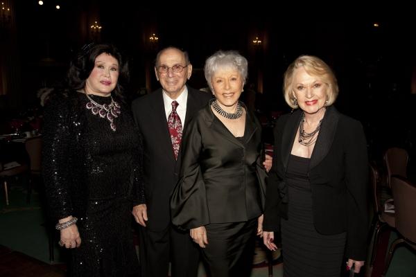Barbara Van Orden, Hal and Eunice David & Tippi Hedren Photo