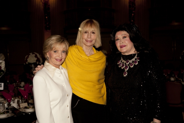 Florence Henderson, Sally Kellerman and Barbara Van Orden at LA Music Center Honors Hal David