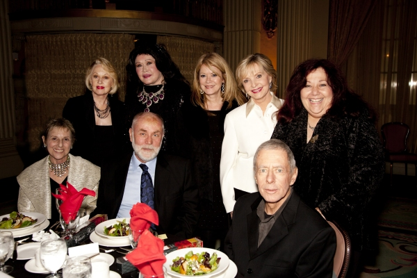Tippi Hedren, Barbara Van Orden, Barbara Chase, Florence Henderson and Wenndy McKenzie, Judy and Robert David Hall and Gary Austin