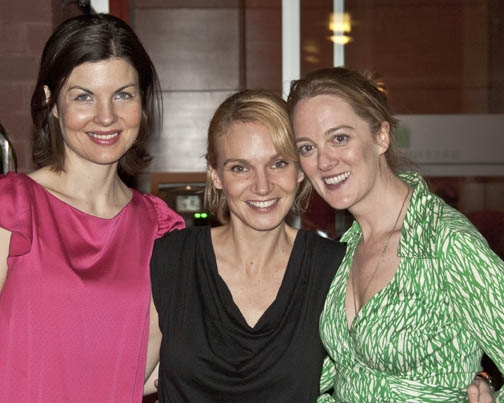 Roya Shanks, Lori Gardner, and Polly Lee. Photo