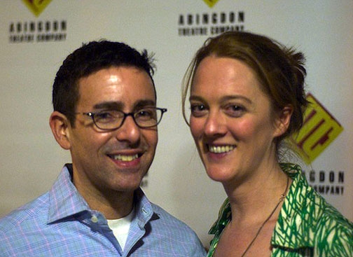 Director Jules Ochoa and Polly Lee at Abingdon Celebrates Opening of HOW I FELL IN LOVE