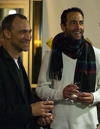 Playwright Joel Fields and Mark Doherty Photo