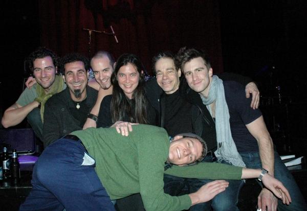 Charlie Chronopoulos, Serj Tankian, Jeff Muzzerole, Diane Paulus, Steven Sater, Gavin Creel,  Gabe Ebert