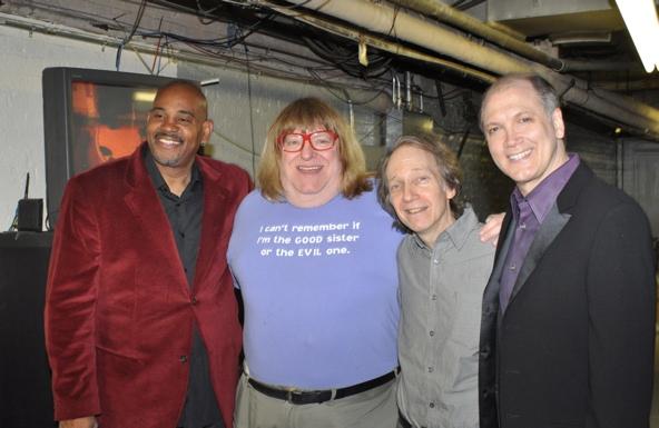 Allan Harris, Bruce Vilanch, Scott Siegel and Charles Busch