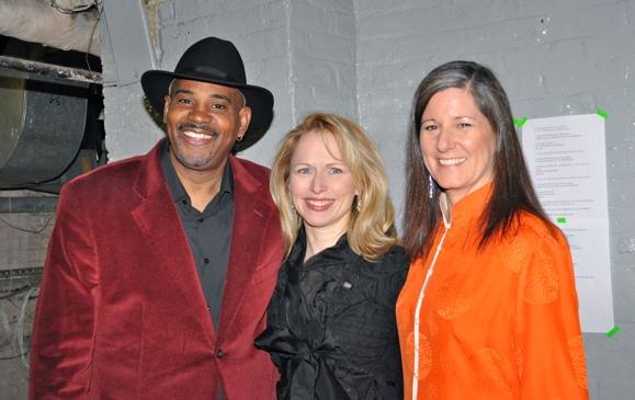 Allan Harris, Karen Oberlin and Pat Harris at 2011 Nightlife Awards