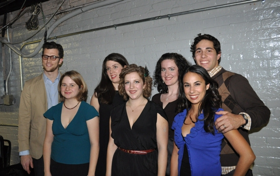 Harvard Sailing Team-Billy Scafuri, Katie Larsen, Sara Taylor, Faryn Einhom, Jen Curran, Rebecca Delgado Smith and Christopher Smith