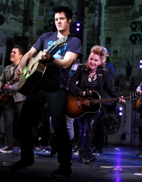 Photo Coverage: Melissa Etheridge Joins the Cast of AMERICAN IDIOT