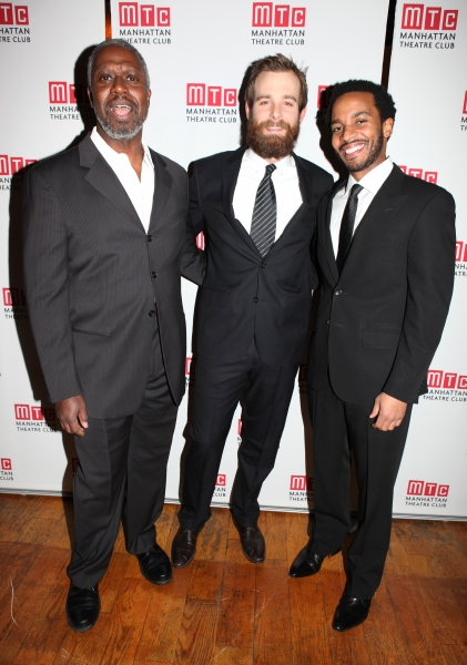 Andre Braugher, Jay Wilkison and Andre Holland attending the Manhattan Theatre Club's
