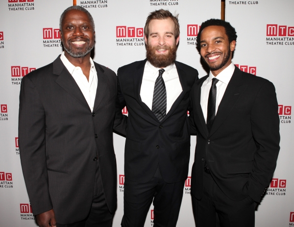 Andre Braugher, Jay Wilkison and Andre Holland attending the Manhattan Theatre Club's Photo
