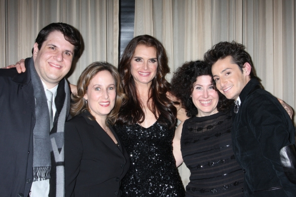 Philip Morgaman, Zina Goldrich, Brooke Shields, Marcy Heisler and Frankie Grande