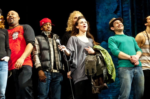 Photo Coverage: MEMPHIS Treats 1000 NYC Public School Student to First Broadway Show