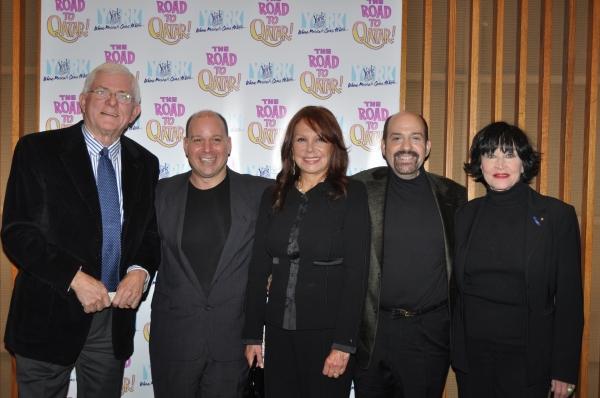 Phil Donahue, Stephen Cole, Marlo Thomas, David Krane (Composer) and Chita Rivera
