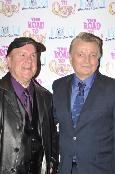 Michael Bottari and Ronald Case (Set, Costume & Puppet Design) at The Road To Qatar