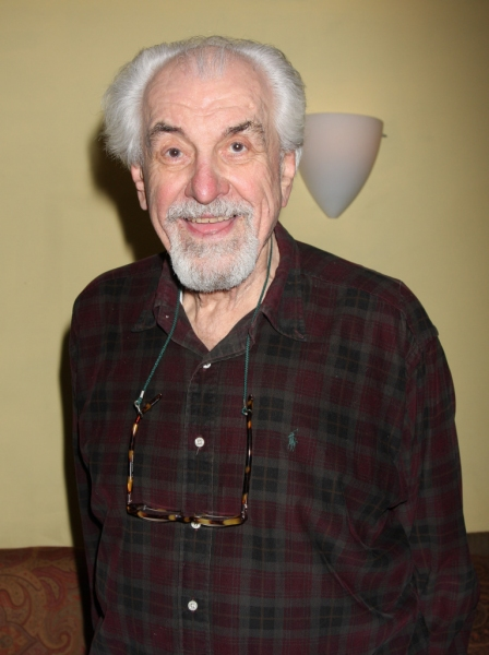 "Louis Zorich at opening night of Classic Stage Company's production of Anton Chekhov's ""Three Sisters"""