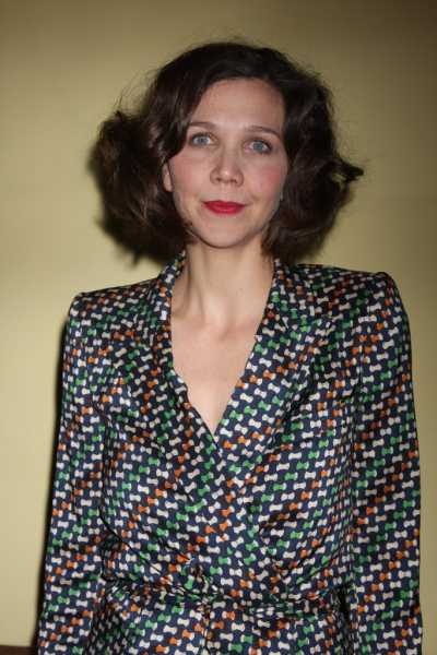 Maggie Gyllenhaal at opening night of Classic Stage Company's production of Anton Chekhov's 'Three Sisters'