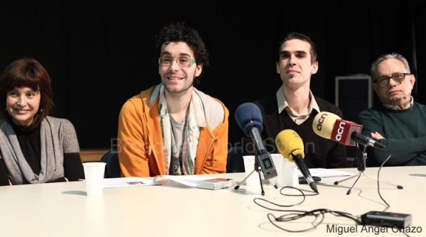 Lidia Giménez, David Pintó, Xavier Torras y Miquel Pelier