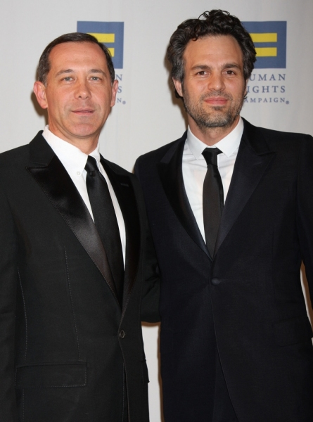 Joe Solmonese and Mark Ruffalo Photo