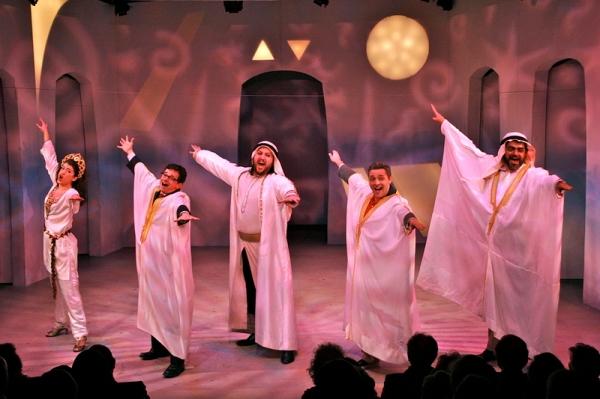 Photo Flash: York Theatre's THE ROAD TO QATAR Opening Night