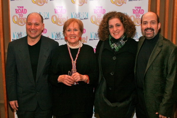 Stephen Cole, Marni Nixon, Mary Testa, David Krane