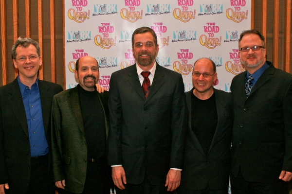 Creative team:  David Caldwell, David Krane, Phillip George, Stephen Cole, Bob Richard