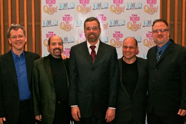 David Caldwell, David Krane, Phillip George, Stephen Cole, Bob Richard