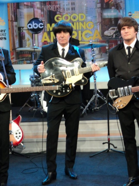 Photo Flash: RAIN Visits Good Morning America