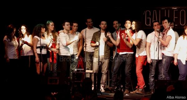 Ruth Calvo, Xenia Garcia, Lourdes Fabres, Ana San Martin, Gonzalo Alcain, Edgar Marti Photo