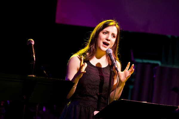 Jessica Hershberg at Ryan Scott Oliver Celebrates Songbook Release at Joe's Pub