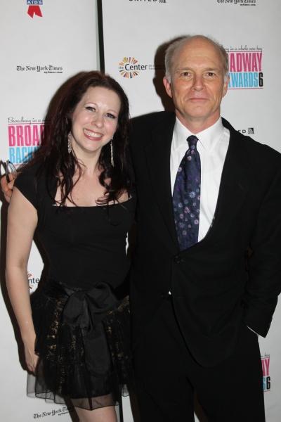 Kirsten Wyatt and Dan Butler at Broadway Backwards Raises $281,243 for BC/EFA