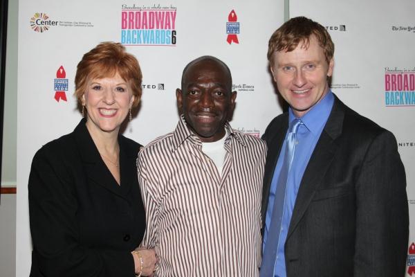 Kathryn Kendall (co-choreographer/associate director), Hinton Battle and Robert Bartley