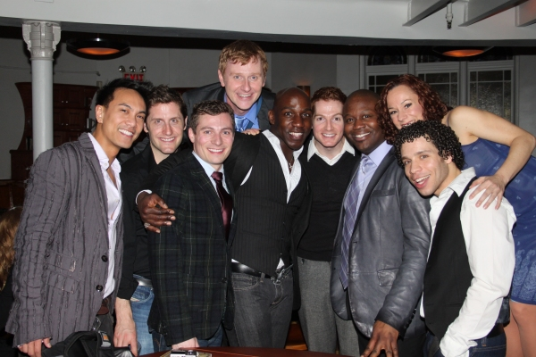 Kenway Kua, Kurt Domoney, Scott McLean Harrison, Robert Bartley, Alfie Parker Jr., Tim McGarrigal, Tituss Burgess, Barbara Angeline and Robin De Jesus