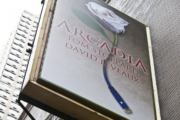 UP ON THE MARQUEE: ARCADIA!