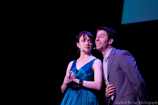 Katherine Walker & Sam Strasfeld from Mary Poppins Broadway Cast Photo