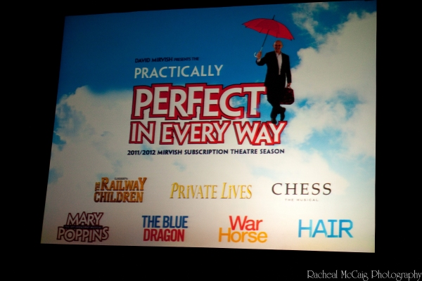 Photo Coverage: 'Practically Perfect in Every Way' Mirvish's 2011-12 Season