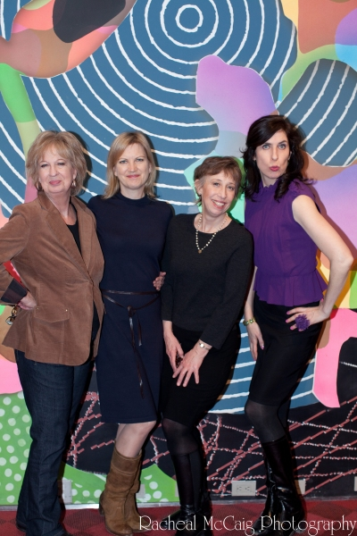 Women Fully Clothed's Jane Eastwood, Katherine Greenwood, Robin Duke, and Teresa Pavlinek