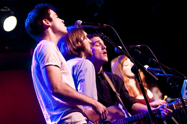 Matt Doyle, James Smith, Jesse Ruben & Heather Robb
