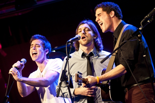 Matt Doyle,  James Smith & Jesse Ruben