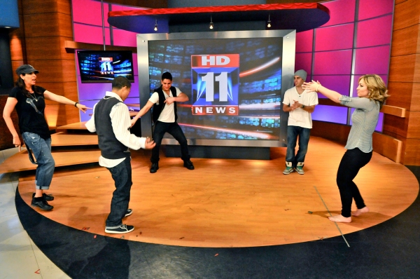 "Photo Flash: So You Think You Can Dance Pros Visit FOX ""Ballroom With A Twist"" is the only show that offers fans of ""Dancing With The Stars,"" ""So You Think"
