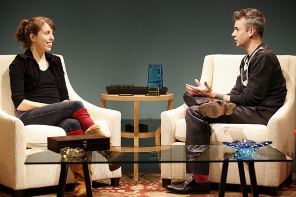 Photo Flash: INTERVIEWING THE AUDIENCE at Vineyard Theatre