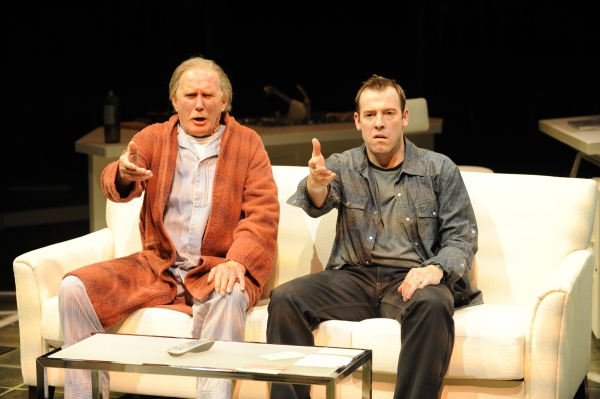Mike Hartman and Ian Merrill Peakes as Sid and Gary Zipnik