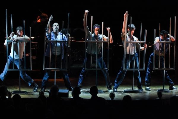 Reed Kelly, Kenway Hon Wai K. Kua, Patrick O'Neill, Alfie Parker Jr., Jody Reynard & Matt Steffens - 'Cell Block Tango' from CHICAGO