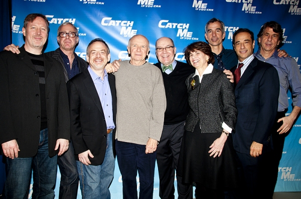 John McDaniel, Scott Wittman, Marc Shaiman,Terrence McNally, Jack O'Brien, Margo Lion, Jerry Mitchell, Hal Luftig & David Rockwell