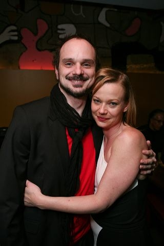 Grant James Varjas (L) and Samantha Mathis