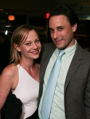 Samantha Mathis (L) and Greg Keller