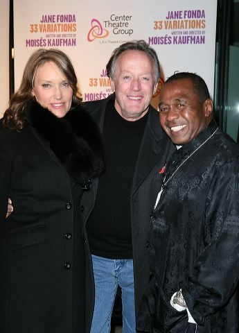 Parky DeVogelaere, actor Peter Fonda and actor Ben Vereen